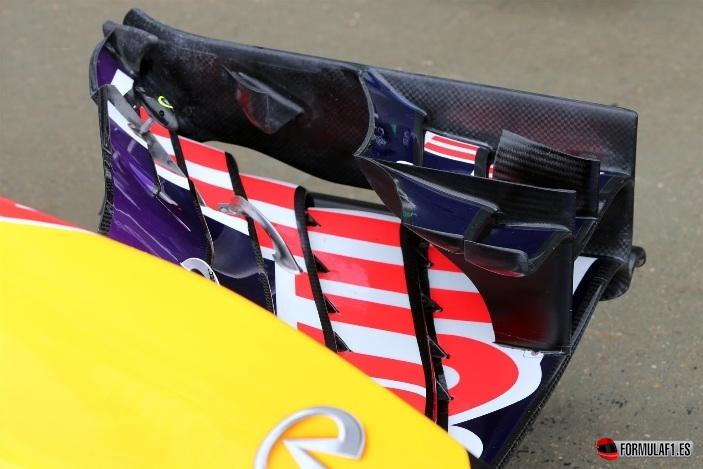 Red Bull RB10 en Silverstone 2014