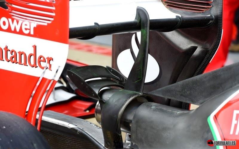 Ferrari F14T en Silverstone 2014
