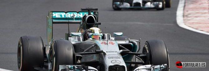 Lewis Hamilton, satisfecho de haber podido minimizar daños