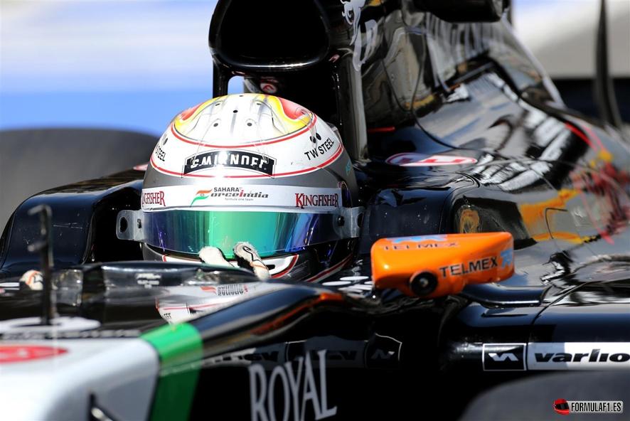 GP de Italia 2014 – Libres 1: Lewis Hamilton lidera mientras Roberto Merhi debuta con brillantez