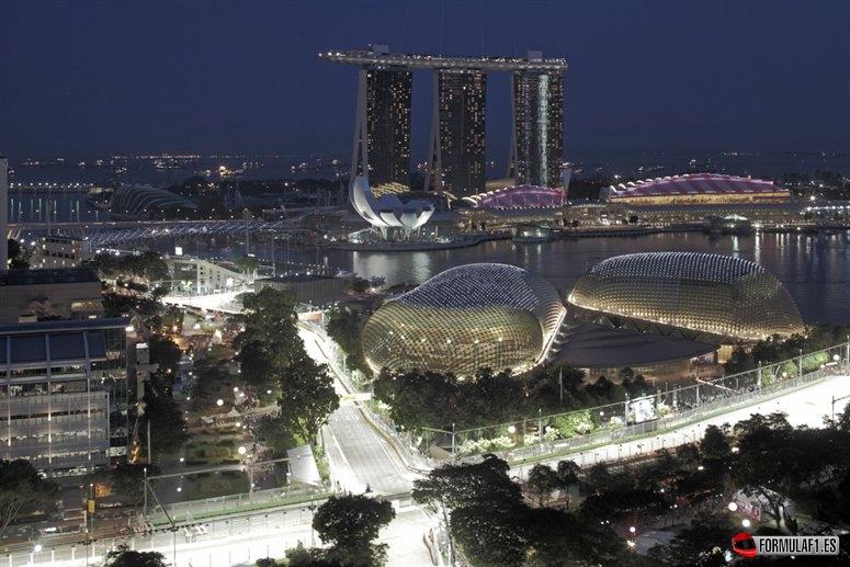 Circuito Callejero De Marina Bay : Previo del gp de singapur más duro todavía fórmula f