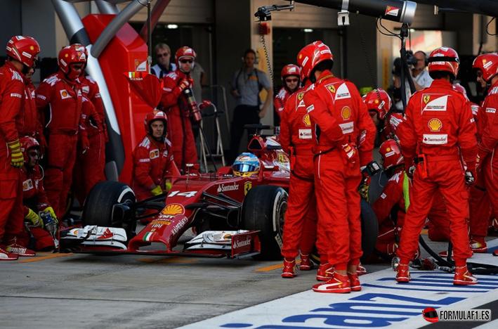 Alonso. GP Rusia 2014