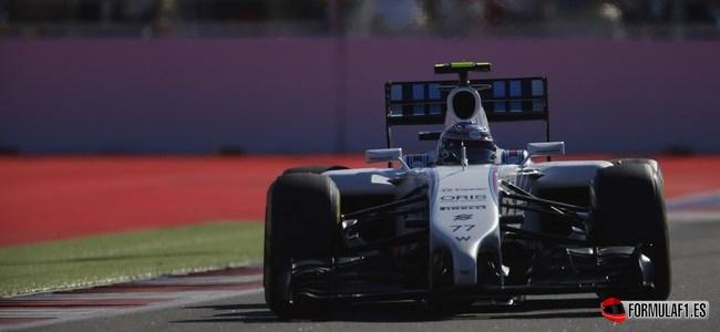 Valtteri Bottas, Williams, GP Rusia 2014