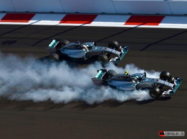 Salida GP Rusia 2014