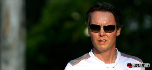 Sam Michael, McLaren, F1