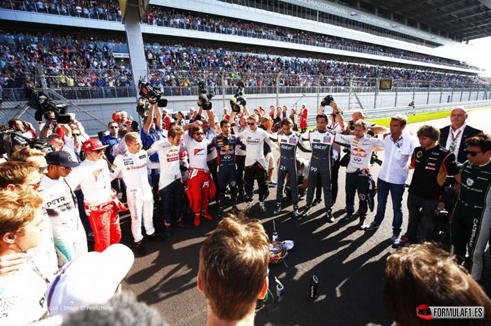 Tributo a Bianchi. GP Rusia 2014