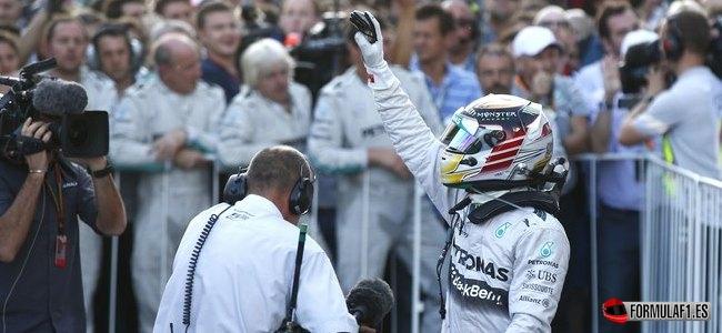 Lewis Hamilton, Mercedes, GP Rusia 2014