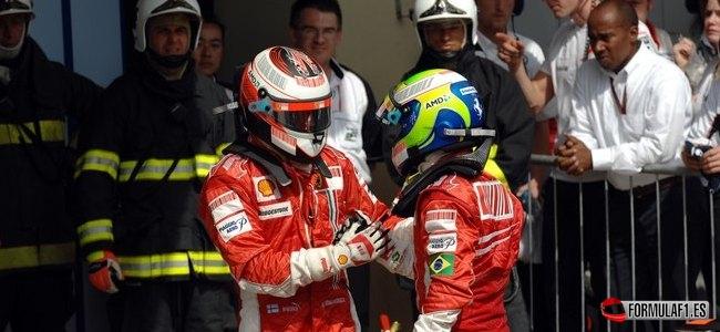 Kimi Räikkönen, Ferrari, GP Brasil 2007