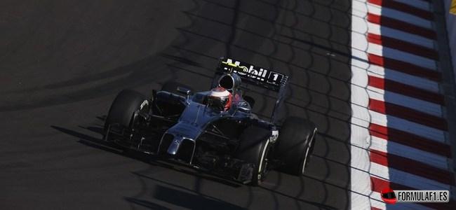 Kevin Magnussen, McLaren, GP Rusia 2014