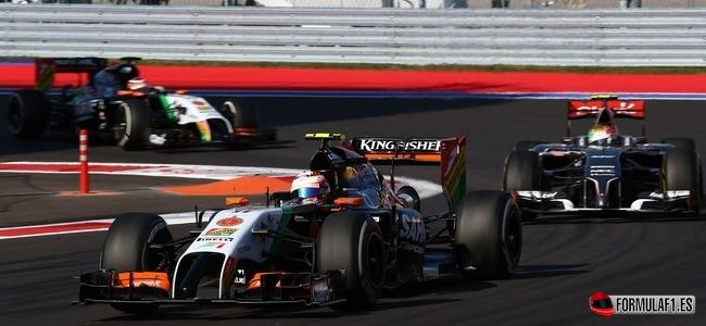 Sergio Pérez, Force India, GP Rusia 2014