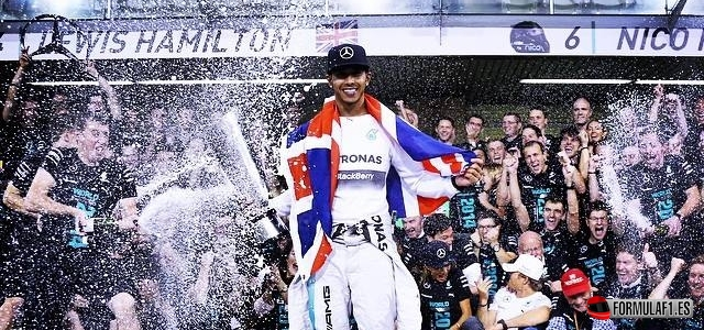 Hamilton, Double World Champions F1