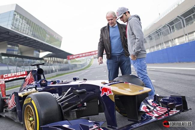 Marko, Sainz, Toro Rosso