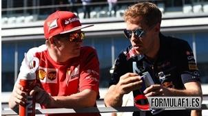 Raikkone, Vettel, Ferrari, F1