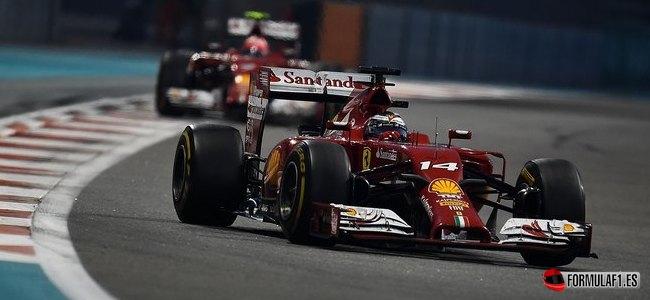 Fernando Alonso, Ferrari, GP Abu Dabi 2014