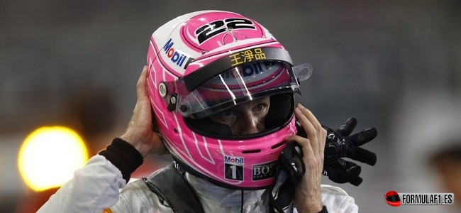 Jenson Button, McLaren, GP Abu Dabi 2014