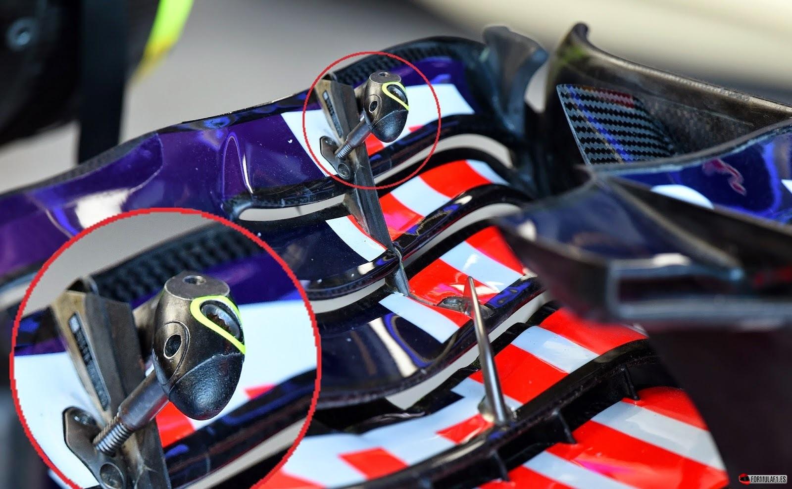 Alerón con flaps flexibles de Red Bull
