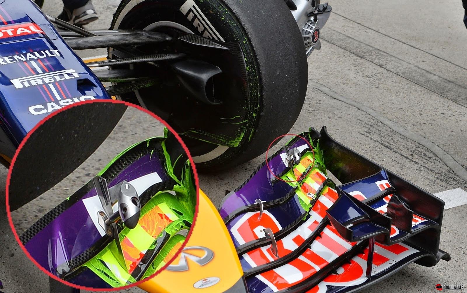 El claro incumplimiento de las normas de Red Bull
