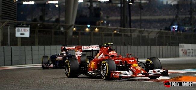Kimi Räikkönen, Ferrari, GP Abu Dabi 2014