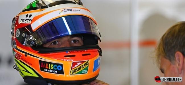 Sergio Pérez, Force India, GP Abu Dabi 2014