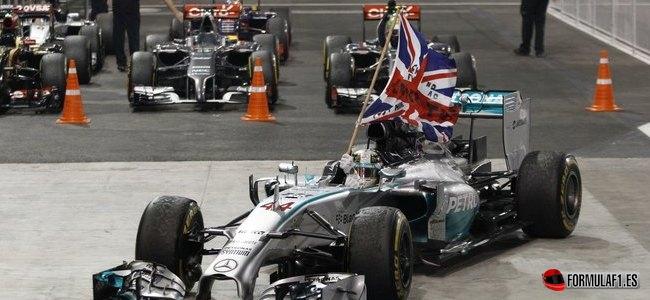 Lewis Hamilton, Mercedes, GP Abu Dabi 2014