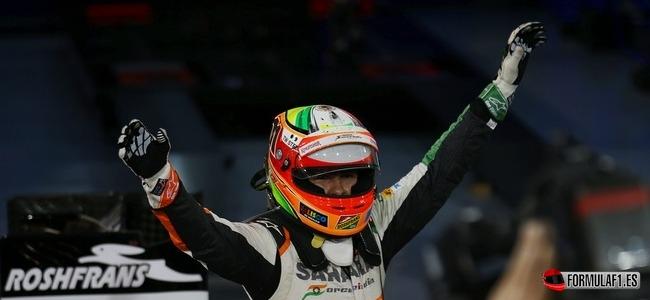 Sergio Pérez, Force India, GP Baréin 2014