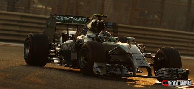 Nico Rosberg, Mercedes, GP Abu Dabi 2014