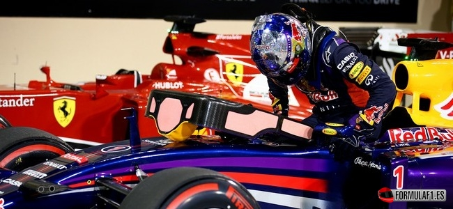 Sebastian Vettel, Red Bull, GP Abu Dabi 2014