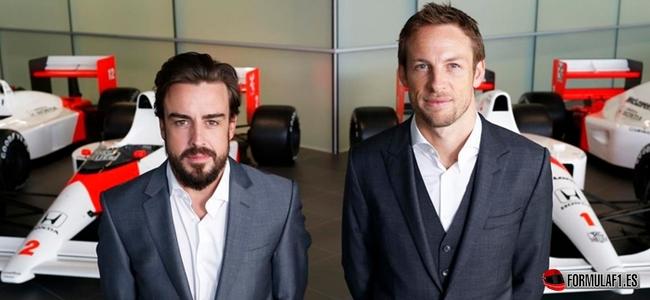 Alonso, Button, 2015 McLaren