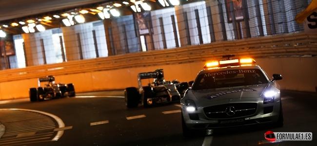 Safety Car, GP de Mónaco 2014