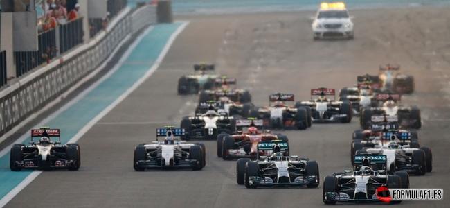 El calendario de Fórmula 1 de 2015 tiene 21 Grandes Premios