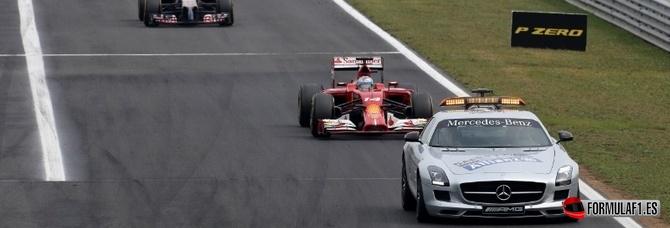 El coche de seguridad virtual se integra a la reglamentación de la Fórmula 1