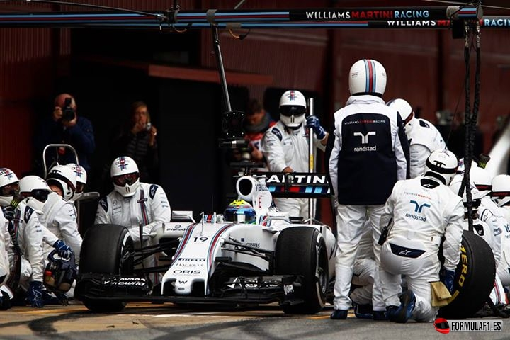 Los test de F1 de Montmeló 2015 en 100 imágenes