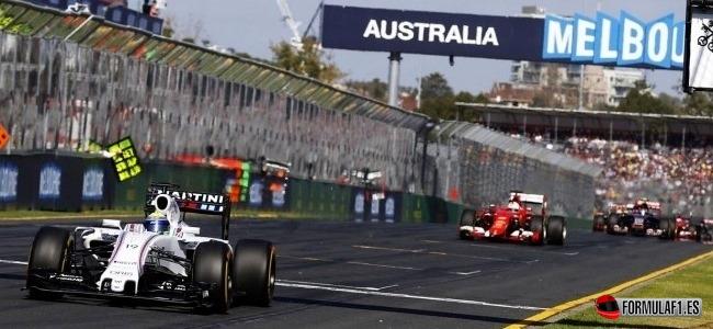 2015 Australian GP F1
