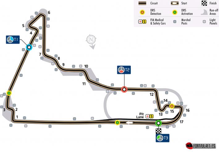 Circuito Autódromo Hermanos Rodríguez