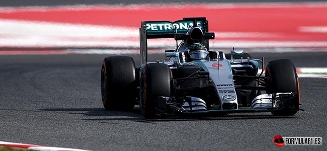 Nico Rosberg, Mercedes, Test Barcelona 2015