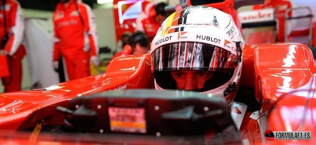 Sebastian Vettel, Ferrari, Barcelona Test