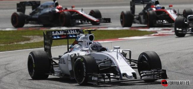 Valtteri Bottas, Williams, GP Malasia 2015
