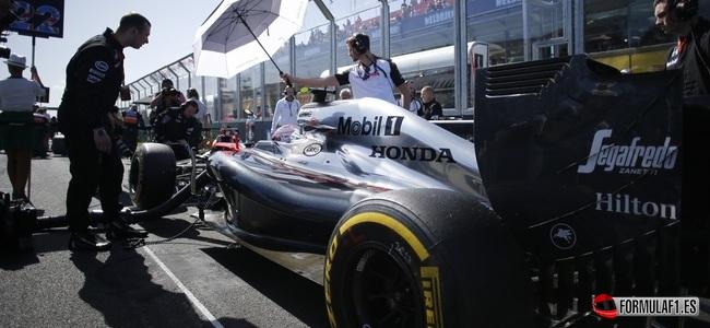 Jenson Button, McLaren, GP Australia 2015