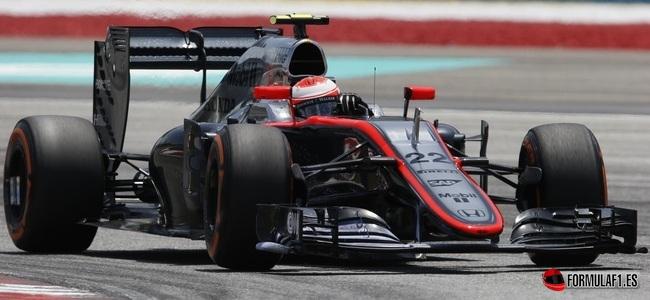 Jenson Button, McLaren, GP Malasia 2015
