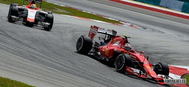 Kimi Räikkönen, Ferrari, GP Malasia 2015