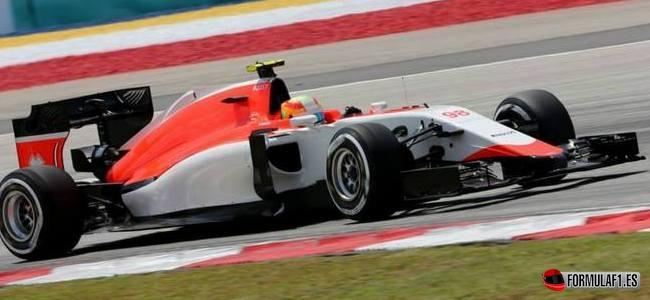 Roberto Merhi, Manor, GP Malasia 2015
