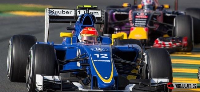 Felipe Nasr, Sauber, GP Australia 2015