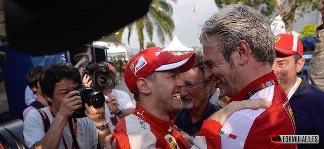 Sebastian Vettel, Ferrari, GP Malasia 2015