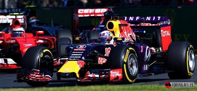 Daniel Ricciardo, Red Bull, GP Australia 2015