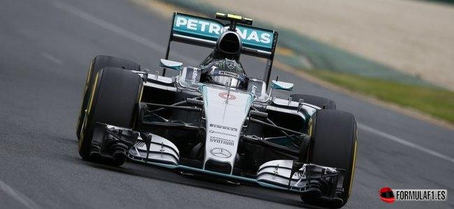 Nico Rosberg, Mercedes, GP Australia 2015