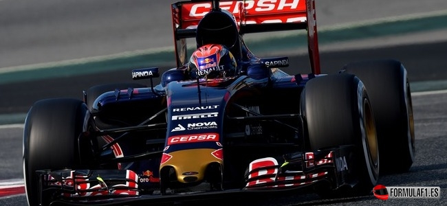 Max Verstappen, Toro Rosso, Test Barcelona 2015