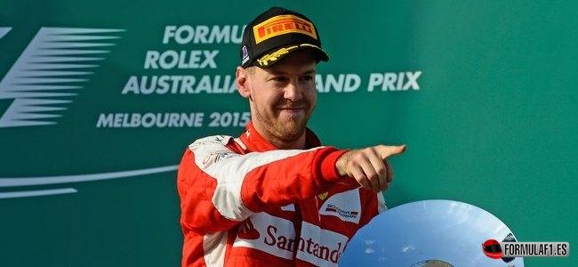 Sebastian Vettel, Ferrari, GP Australia 2015