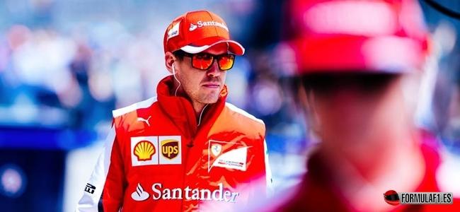 Vettel, China 2015
