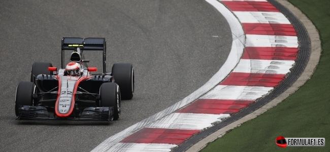 Jenson Button, McLaren, GP China 2015