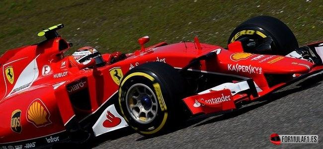 Kimi Räikkönen, Ferrari, GP China 2015
